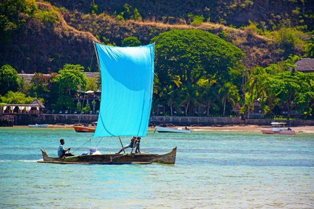 Sainte Marie, une île de fleur et de la vanille à Madagascar